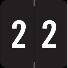 Numeric Label 2  AVNM-2 (500 Labels)