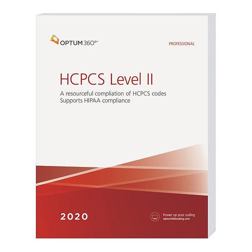 2020 HCPCS Level II Professional  HB20