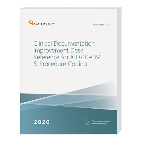 2020 Clinical Documentation  (CDI20)