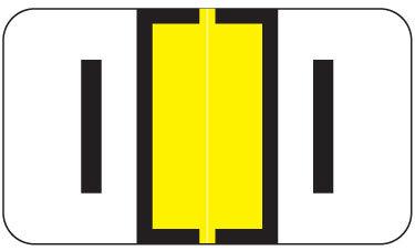 Alpha Labels I (JT3R) Yellow