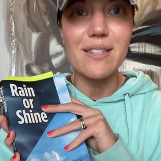 "BOOK CLUB - DAY 12: ""Rain or Shine"" We must create Systems | Keto Mom"
