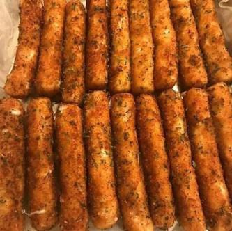 Easy to make Mozzarella Sticks