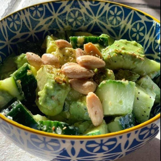 Simple Keto Avocado Salad