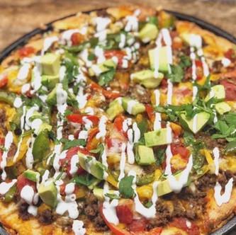 Delicious Keto Mexican Pizza