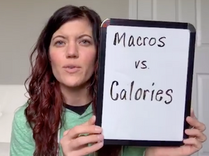 learn the difference between calories and macros