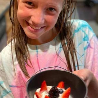 Berries and Cream dessert