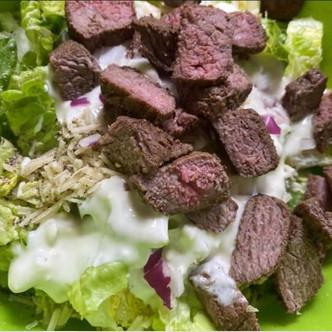 Keto Leftover Steak Salad