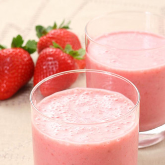 Keto Strawberry Shake
