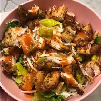 Keto Romaine Chicken Salad