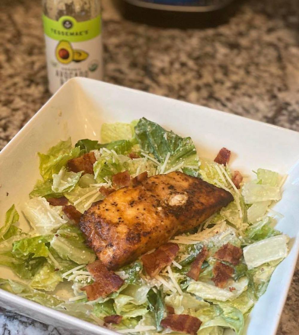 "Salmon ""Best Ever"" Salad"