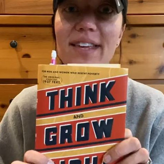 """""""THINK and GROW RICH"""" (Chapter 2.2) """"Our Limitations are only in Our Minds    Keto Mom Book"""