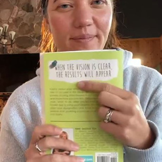"""""""DREAM IT, PIN IT, LIVE IT"""" (The Conclusion): """"Clear Your Visions""""   Keto Mom Book Club"""