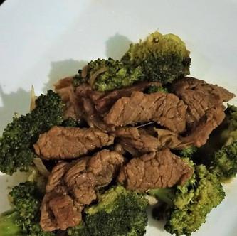 Homemade Keto Beef Broccoli