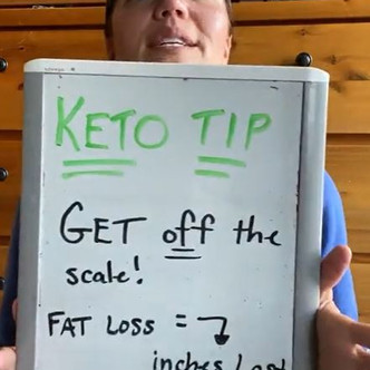 """Two o'clock Tasting & Keto Tip (Day 8) """"Get off the Scale"""":   Keto Mom"""
