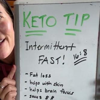 "Two o'clock Tasting & Keto Tip (Day 11): ""Intermittent Fasting""   Keto Mom"