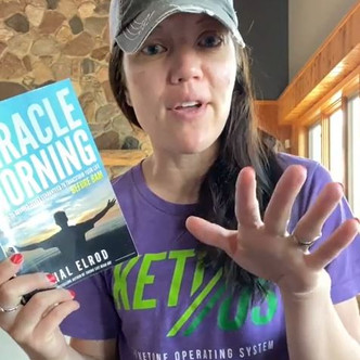 """BOOK CLUB BOOK 2 - DAY 9: """"Miracle Morning"""" Customizing your Morning 
