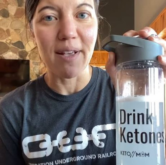 Thirsty Thursday - All about Ketones and My Mom Fuel | Keto Mom