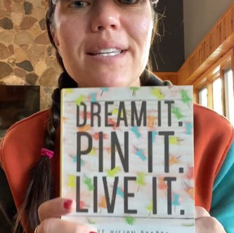"""""""DREAM IT, PIN IT, LIVE IT"""" (Chapter 5): """"Display Your Destiny"""" 