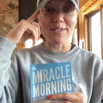 """BOOK CLUB BOOK 2 - DAY 2: """"Miracle Morning"""" How can you own your Mornings 