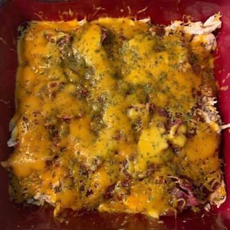 Rotisserie BBQ Chicken Casserole