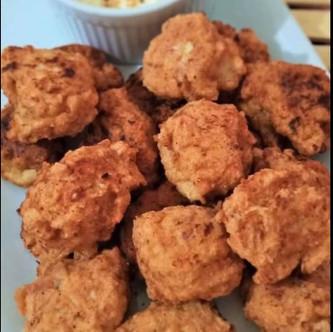 Keto Chicken Bacon Meatballs