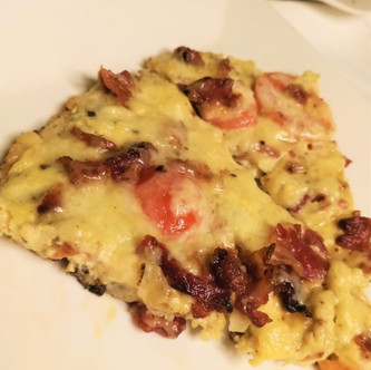 Bacon Cauliflower Frittata