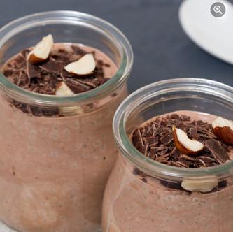 Keto Choco Chia Pudding