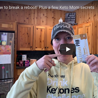 How to Break a 60 Hour Keto Reboot | Keto Mom