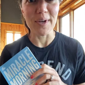 """""""MIRACLE MORNING"""" (Day 1) """"Discipline and Ownership""""   Keto Mom Book Club"""