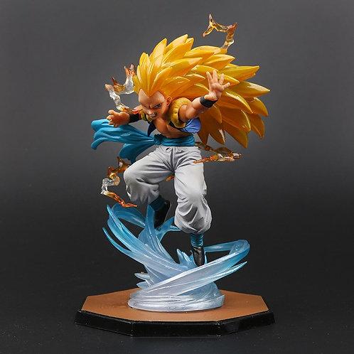 16cm Dragon Ball Z Super Saiyan 3 Gotenks PVC Statue
