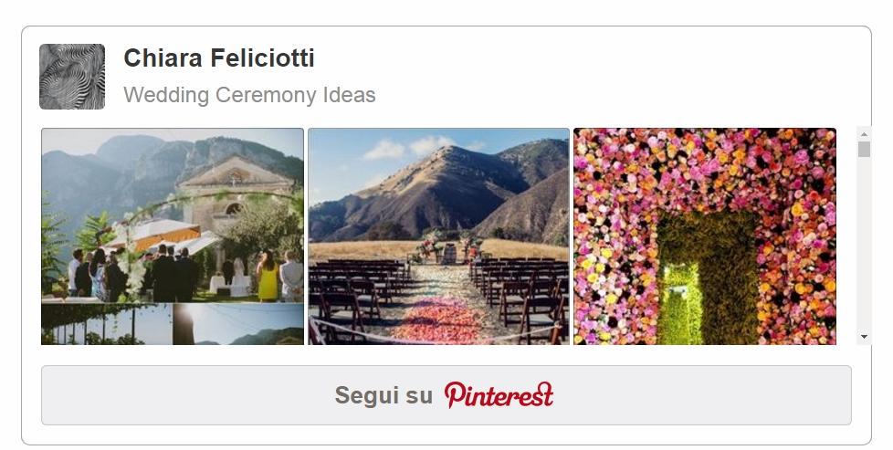 Pinterest Ispirazioni | Matrimonio Simbolico