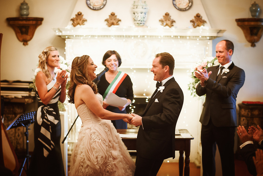 Maria Pia Celebra il matrimonio di Shireen e Ian