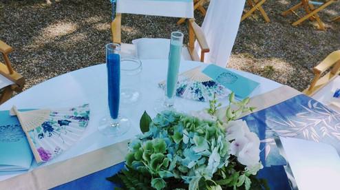 Matrimonio di Pierfrancesco & Yishiang - Rito della Sabbia