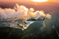 Victoria Falls Helicopter View 3