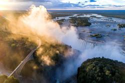 Victoria Falls Aerial View 2