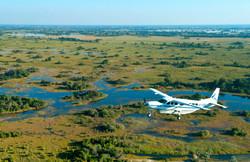 Survol Delta Okavango Avion Edited