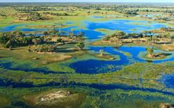 Okavango Delta Aerial View 2