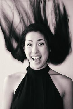 Popura Nakayama - Actress (NYC)Popura Headshots - Monochrome (13)Leigh Carmichael - Body Builder