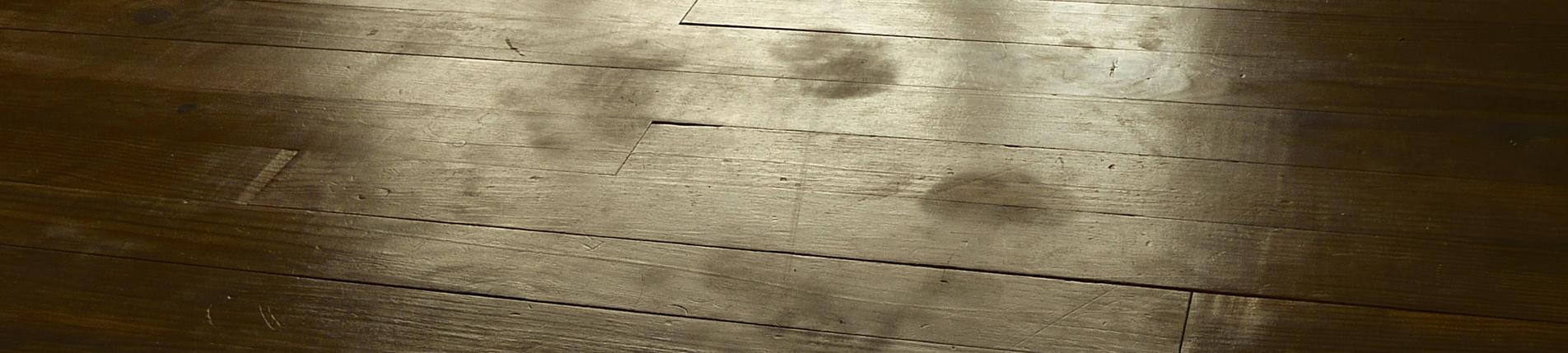 plancher avec empreintes
