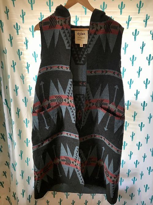 Aztec Long Vest