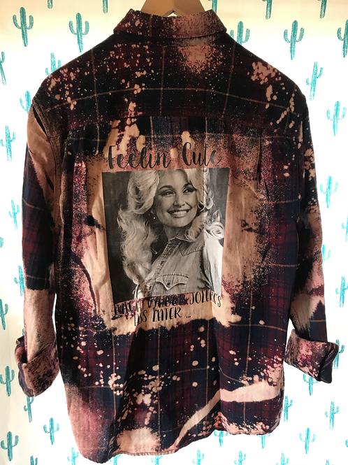 Dolly Parton Flannel