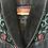 Thumbnail: Black Leather Fringe Jacket