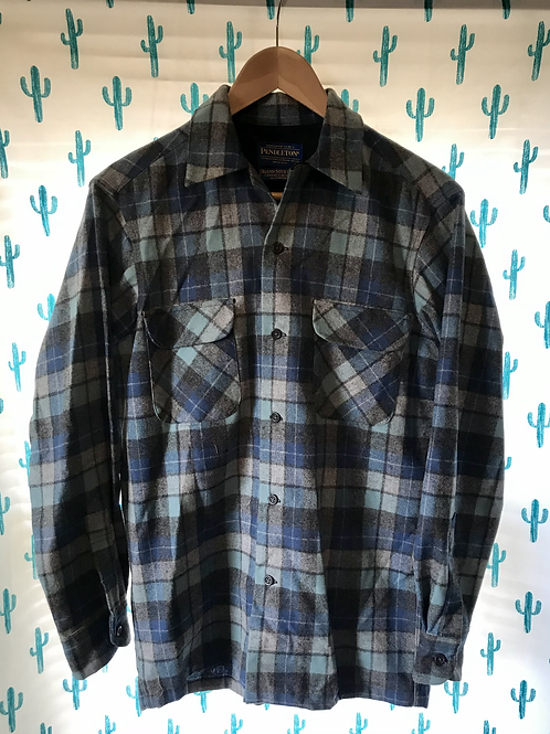 Blue Pendleton Plaid Workshirt