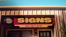 Sign Shop ID Sign