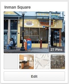 Inman Square on Pinterest
