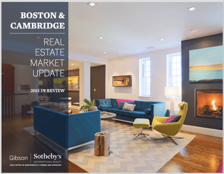 Boston & Cambridge Real Estate Market Review 2015