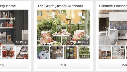 New Pinterest Design Boards — Great Ideas, Tips & Inspiration