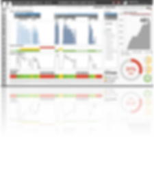 Auk Industries dashboard on desktop and mobile