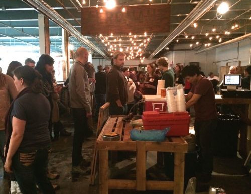 Thanks for coming to the neighborhood bash at Aeronaut Brewing Co — so fun!