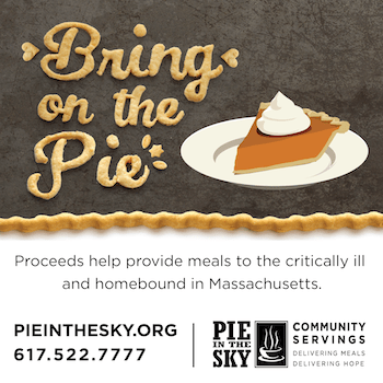 Please buy a pie to help your neighbors!